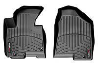 Коврики в салон Kia Sportage III (SL) (дорестайл) 2010 - 2013/ Hyundai ix35 I (дорестайл) 2010 - 2015, черные, Tri-Extruded (WeatherTech, 442921) -
