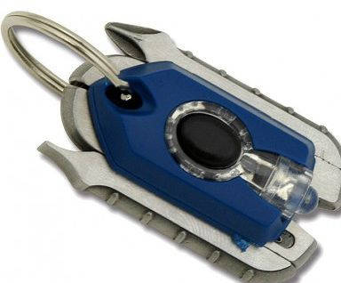 Компактный мультититул-брелок Swiss+Tech Micro-Pro XL900, 60508ES синий