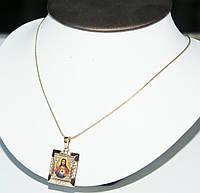 Позолоченные кулоны с иконами Xuping. Украшения от Бижутерии R.R.R. низкие цены от производителей.21
