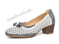 """Туфли летние женские """"Manteli"""" #LM3-13. р-р 36-41. Цвет белый. Оптом"""
