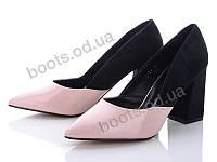 """Туфли демисезонные женские """"Mei De Li"""" #F30. р-р 36-40. Цвет розовый. Оптом"""