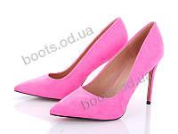 """Туфли демисезонные женские """"Mei De Li"""" #1808-1 plum. р-р 36-40. Цвет розовый. Оптом"""