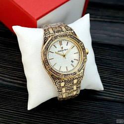 Часы Audemars Piguet Royal Oak Quartz Gold-White Skull - 225887