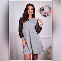 Женское платье 1103 весна-осень (42 44 46 48) (цвет меланж) СП