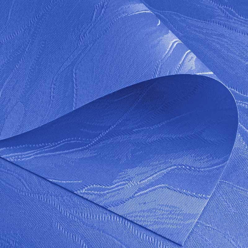 Рулонные шторы Woda. Тканевые ролеты Вода (Дюна) Темно-синий 2090, 75