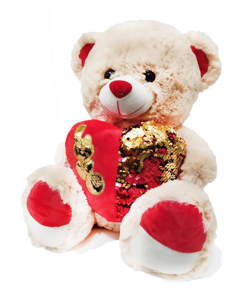 Мягкая игрушка Медведь влюбленный 00712