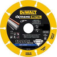 Диск алмазный по металлу диаметром 355 мм, толщина 3.8 мм диаметр посадочного отверствия 25.4 мм. DeWALT DT40259