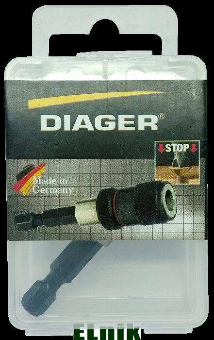 Магнитный удлинитель для бит BIG II, DIAGER [9N60000009N6063400]