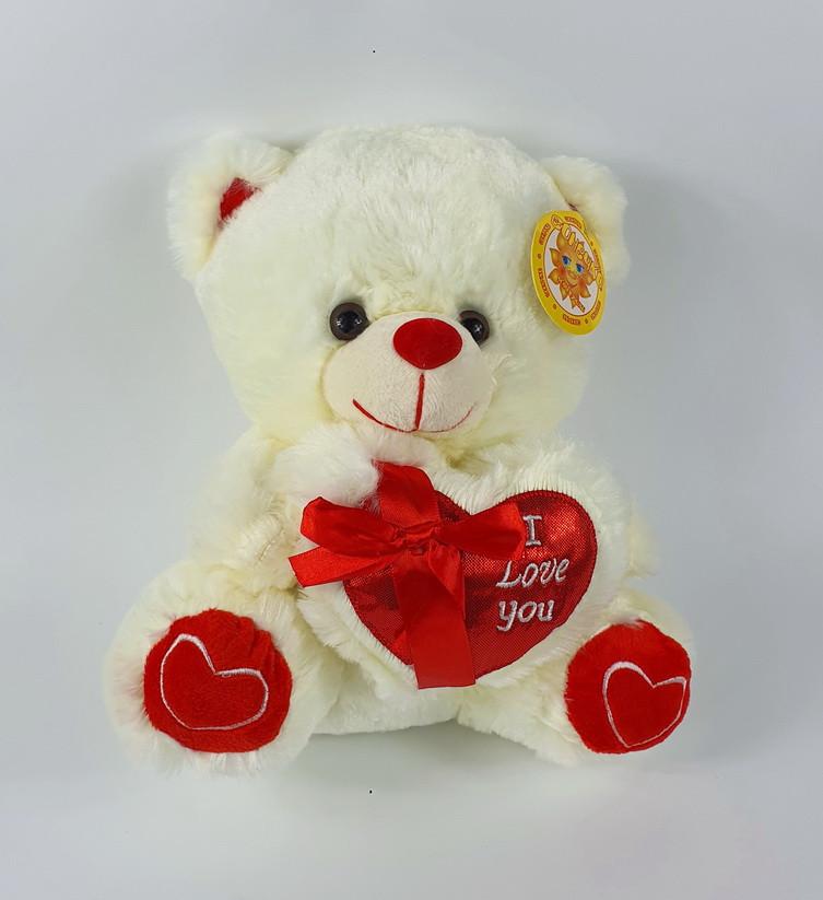 Медведь с сердцем 50 см (музыка)