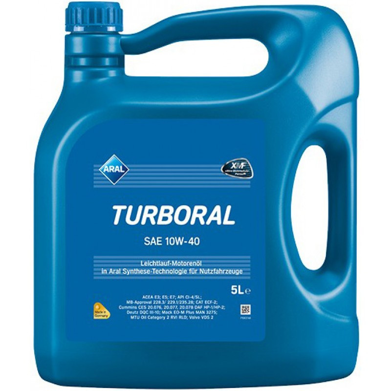 ARAL Turboral 10W-40 Моторное масло 5л