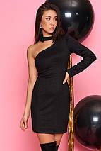 Короткое платье с одним рукавом (Гера mm), фото 3