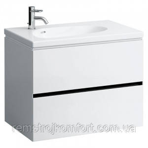 Шкафчик для раковины Palomba 80 белая Laufen (H4072021802201)