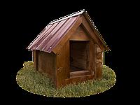 Будка для собаки Фортеця №2 средняя 750*550*630 сосна 9970629