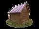 Будка для собаки Фортеця №3 средняя с утеплением 930*640*830 сосна 8640473, фото 3