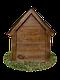 Будка для собаки Фортеця №3 средняя с утеплением 930*640*830 сосна 8640473, фото 4