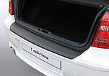 Пластиковая защитная накладка на задний бампер для BMW 1-series E87 3/5dr 2007-2011, фото 3