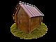 Будка для собаки Фортеця №3 средняя 930*640*830 сосна 9970628, фото 3