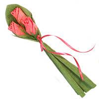 Букет из конфет 3 розы, фото 1