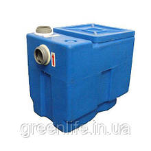 Сепаратор жиру 0.5 л/з, мінісепаратор жиру під мийку, жировловлювач, DG 501e, Еколайн