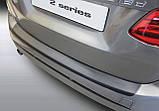 Пластиковая защитная накладка на задний бампер для BMW 2-series F45 Active Tourer 2014+ oem # 51472412724, фото 2