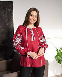 Женская вышитая блуза Роксолана