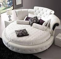 Кровать Дизайнерская Под Заказ круглая Элегия-43 (Мебель-Плюс TM)