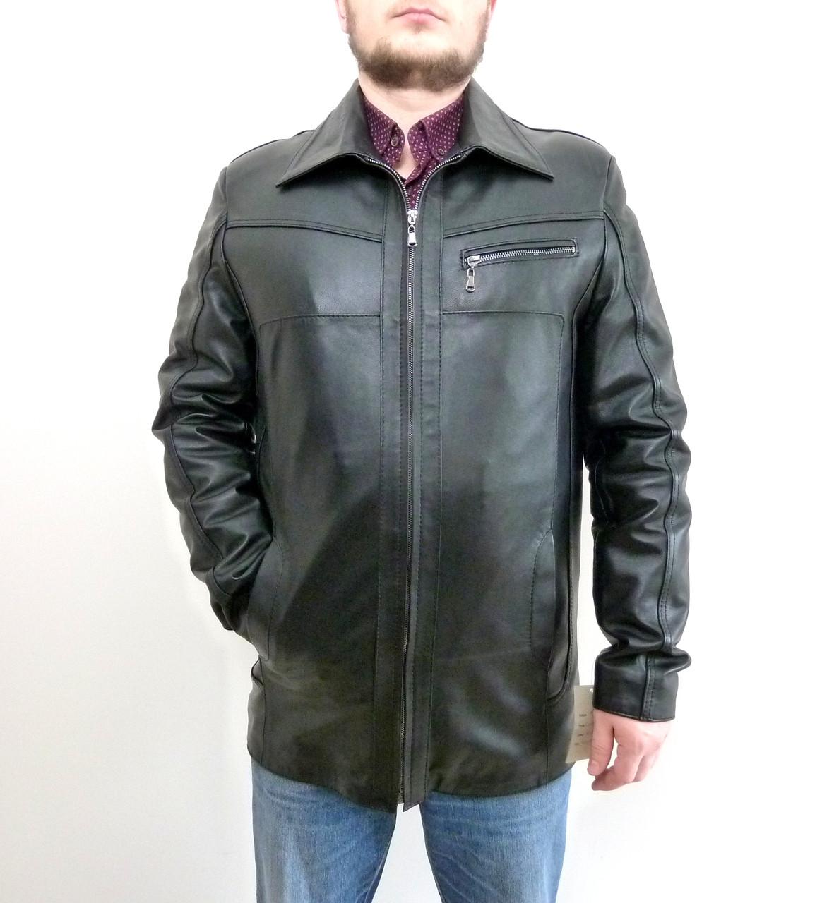 Шкіряна чоловіча куртка KONDOR розмір M
