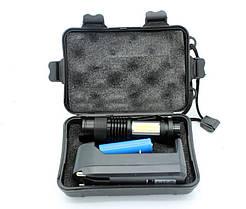 Универсальный, аккумуляторный фонарик с боковой подсветкой, BL-T8468-2