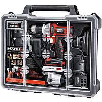 BLACK + DECKER BDCDMT1206KITC Matrix 6 - комбинированный набор инструментов с футляром