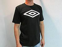 Мужская футболка Umbrо 61731-060 черная код 072в