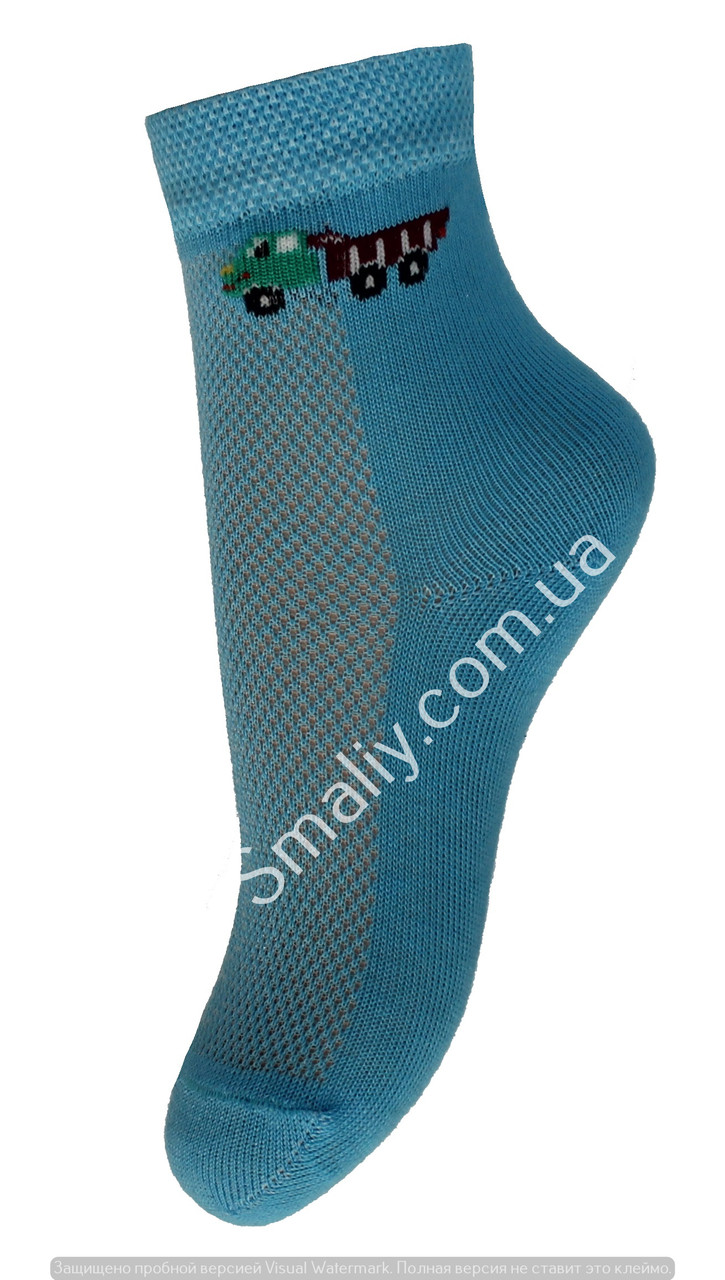 Дитячі шкарпетки літні з сіточкою