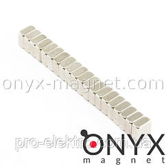 Неодимовий магніт квадрат 5х5х3 мм