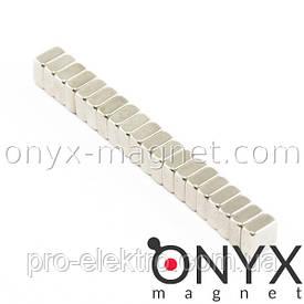 Неодимовый магнит квадрат 5х5х3 мм
