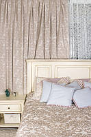 Ткань для пошива штор Кружево 03 двустронняя