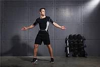 Спортивные мужские шорты черные