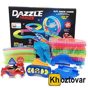 Игрушечная дорога Dazzle Tracks 187 деталей