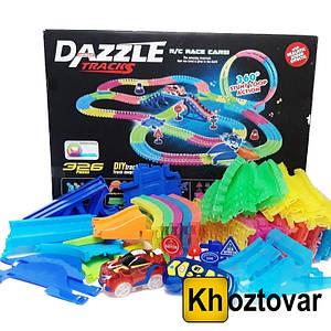 Игрушечная дорога Dazzle Tracks 326 деталей