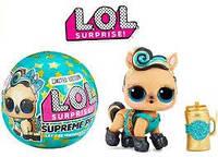 Золотой эксклюзивный питомец пони ЛОЛ L. O. L. Surprise Supreme Pet Exclusive MGA