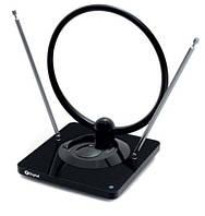 Антенна для тюнеров T2 X-Digital DIN 330 комнатная с усилителем и FM
