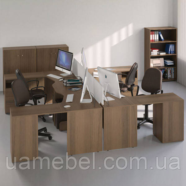 Мебель для персонала Bazis №3 (4 рабочих мест)