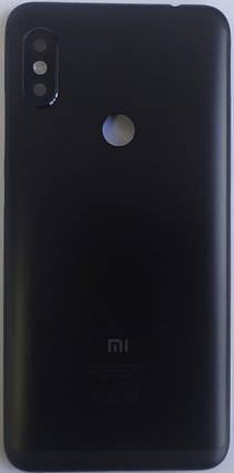 Задня кришка для Xiaomi Redmi NOTE 6 PRO BLACK, фото 2