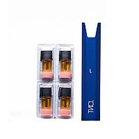 POD система Joint Starter Kit Blue комплект 4 картриджа Strawberry 50 мг