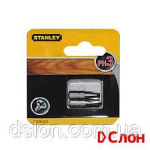 Набор бит STANLEY STA61022, односторонняя, Philips, Ph3, L = 25 мм, 2 шт, блистер