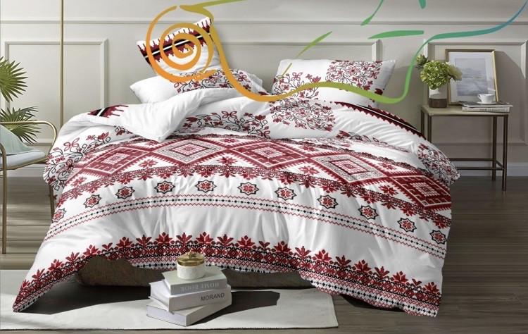 """Комплект постельного белья из ранфорса ТМ """"Ловец снов"""", Вышиваночка"""