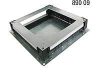 Металическая коробка для Напольного люка для розеток 36x36