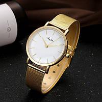 Женские наручные часы с позолотой