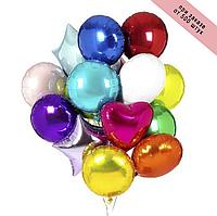 Фольгированные шары ассорти Китай, 44*45 см (18')