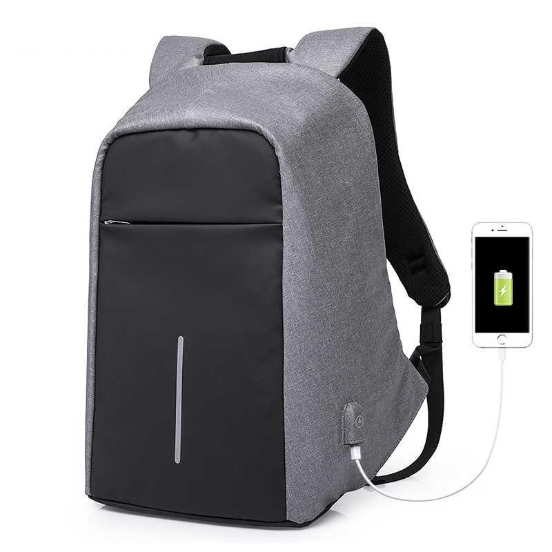 """Городской рюкзак-антивор Kaka 17012, с карманом для ноутбука до 15,6"""", USB портом, влагозащищенный, 12л"""