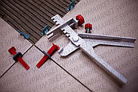 Система выравнивания плитки СВП NOVA  200 клиньев + 500 зажимов 1 мм + 1 металлический инструмент