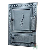 Чугунные дверцы DW12 475x325